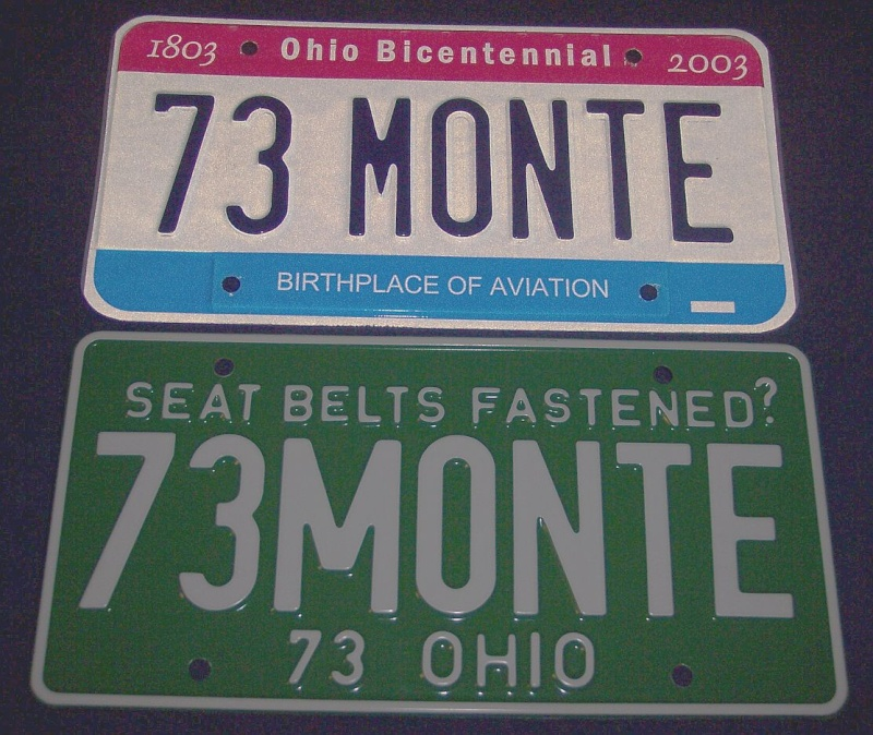 any of you collect license plates Plate_10