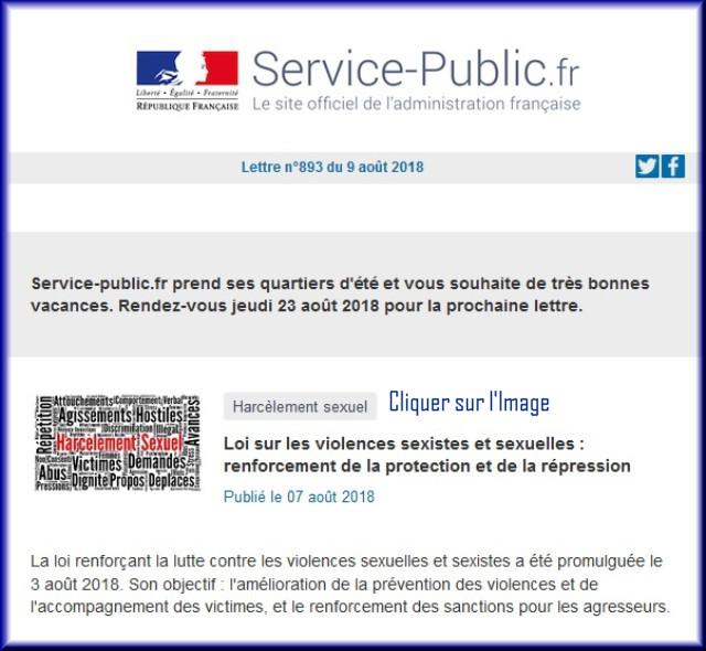 """La lettre N° 893 de """"Service Public"""" pour le 09 Août 2018 Sans_t10"""