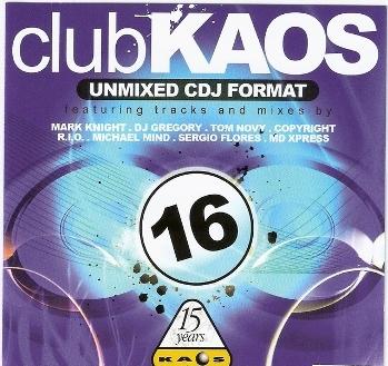 Club Kaos - Unmixed Cdj Format (1 - 35) Ck1610