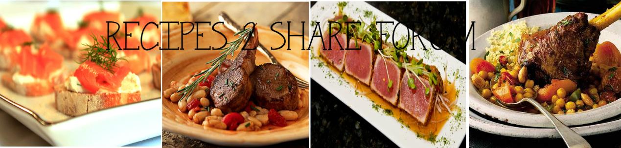 Recipes 2 Share