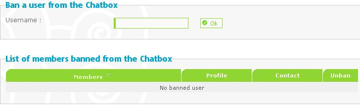 Run through of the admin panel Chatbo11
