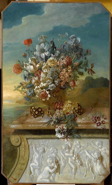 Exposition Fleurs du Roi au grand trianon 09-54110