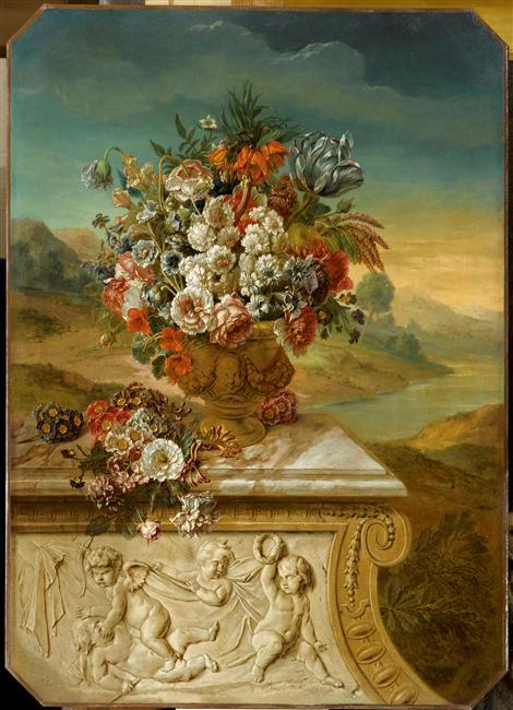 Exposition Fleurs du Roi au grand trianon 09-54111