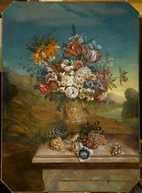 Exposition Fleurs du Roi au grand trianon 09-54114
