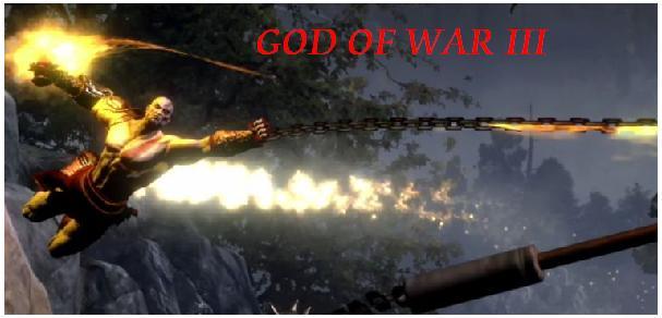 """God Of War 3 """"Kratos's Back"""" Gow310"""