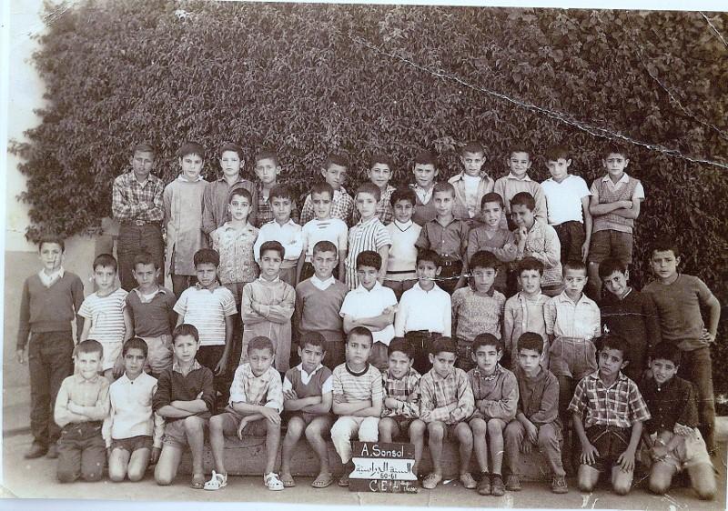ecole sonsol annee  60-61 Ecole_11