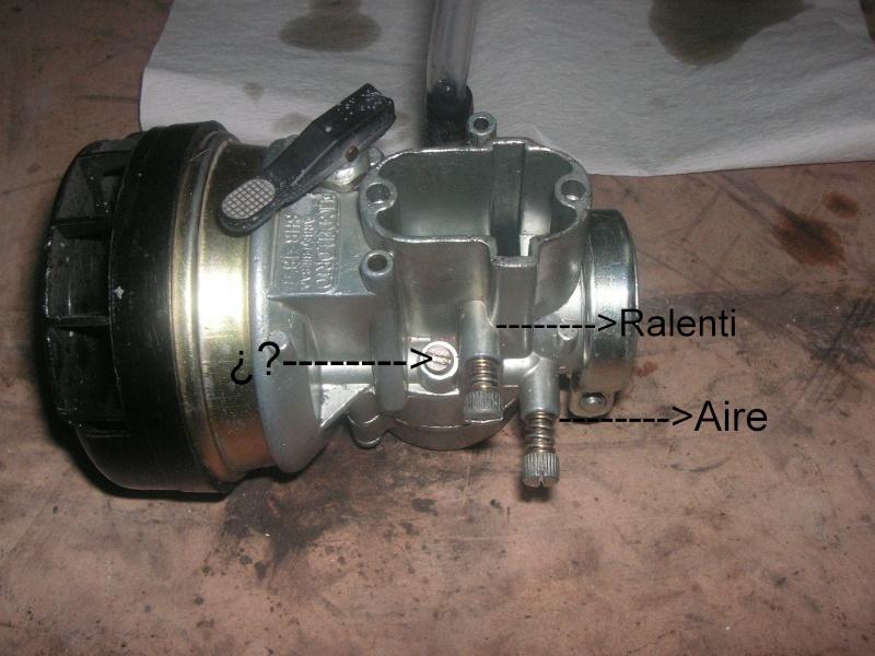 Puch Condor III - Carburación Dellor10