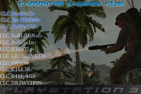 COMMITED LEGENDS CLAN*