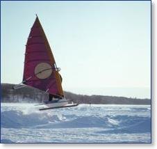 Windsurf sur la neige (les anciens ont déja tout essayer) Windne11