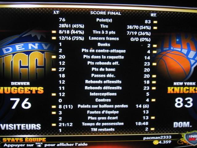 Nuggets 76 @ Knicks 83 [VERIFIE][CLASSE] Img_5725