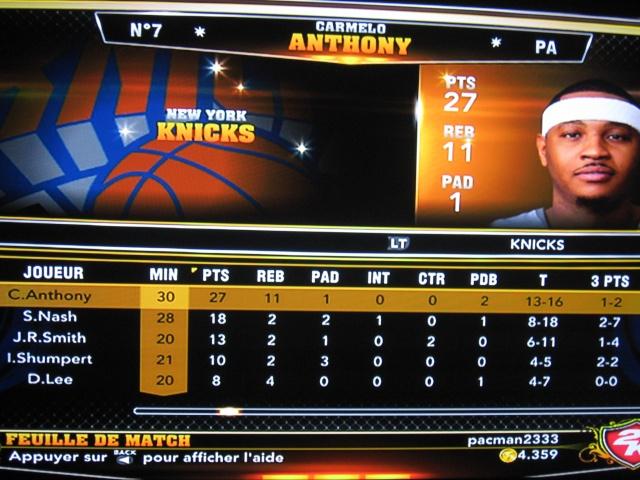 Nuggets 76 @ Knicks 83 [VERIFIE][CLASSE] Img_5726