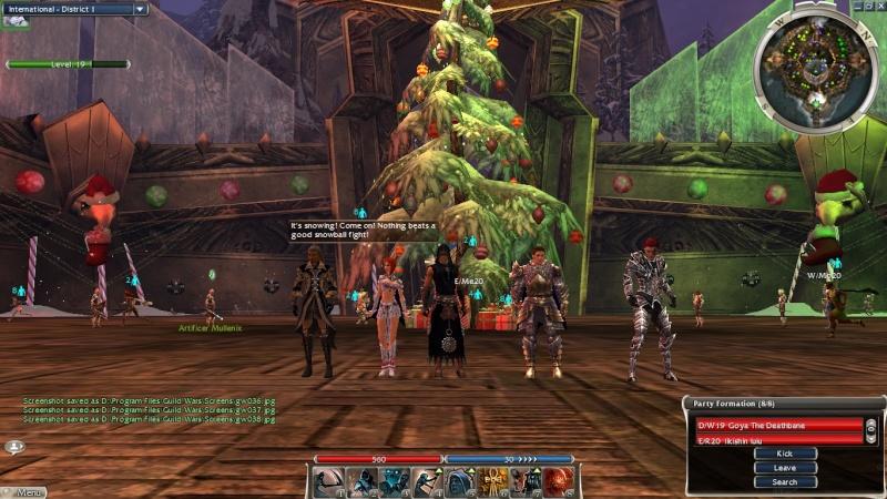 In-game screen shots :) Gw00710