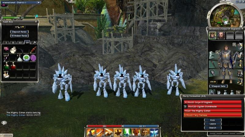 In-game screen shots :) Gw00810