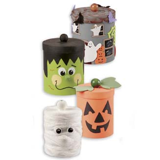 Cute Halloween Canisters Mp106110