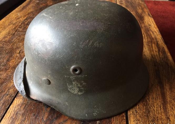 Avis et estimation casque allemand M40 fabriqué par Quist Img_1710