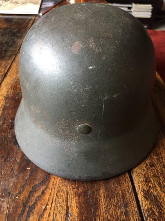 Avis et estimation casque allemand M40 fabriqué par Quist Img_5516