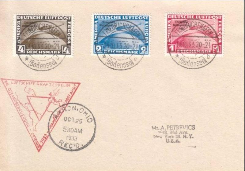 nach - Gefälschter Zeppelinbrief Zeppel10