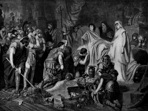 لماذا توفي الإسكندر الأكبر في ظروف غامضة عن عمر يناهز 32 عامًا؟  Alexan10
