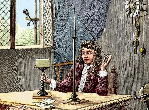 كريستيان هيجنز مخترع ساعة البندول  Christ10