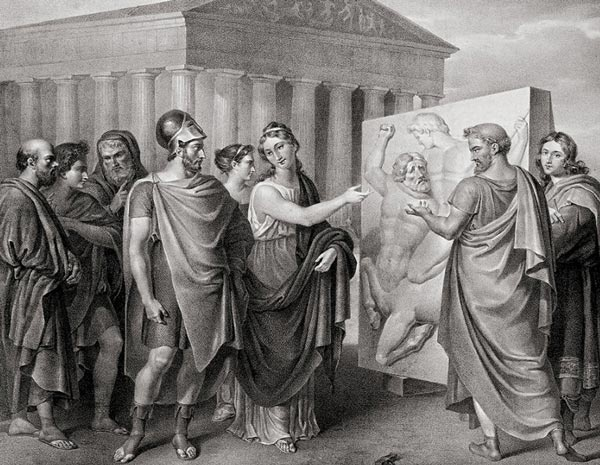 الجنرال بريكليس والعصر الذهبي الأثيني  Pericl10