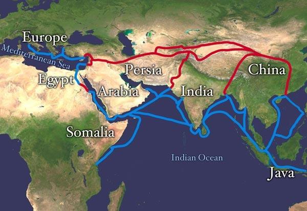 ماذا تعرف عن تاريخ طريق الحرير التجاري الشهير ؟  Silk-r10