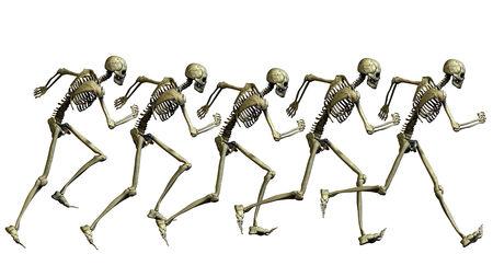 العظام تفرز هرمون يساعدنا على الهروب من الخطر Ss262510