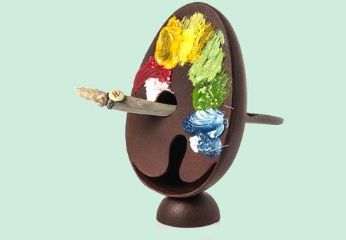 Chocolats de Pâques en artistique Quelle10