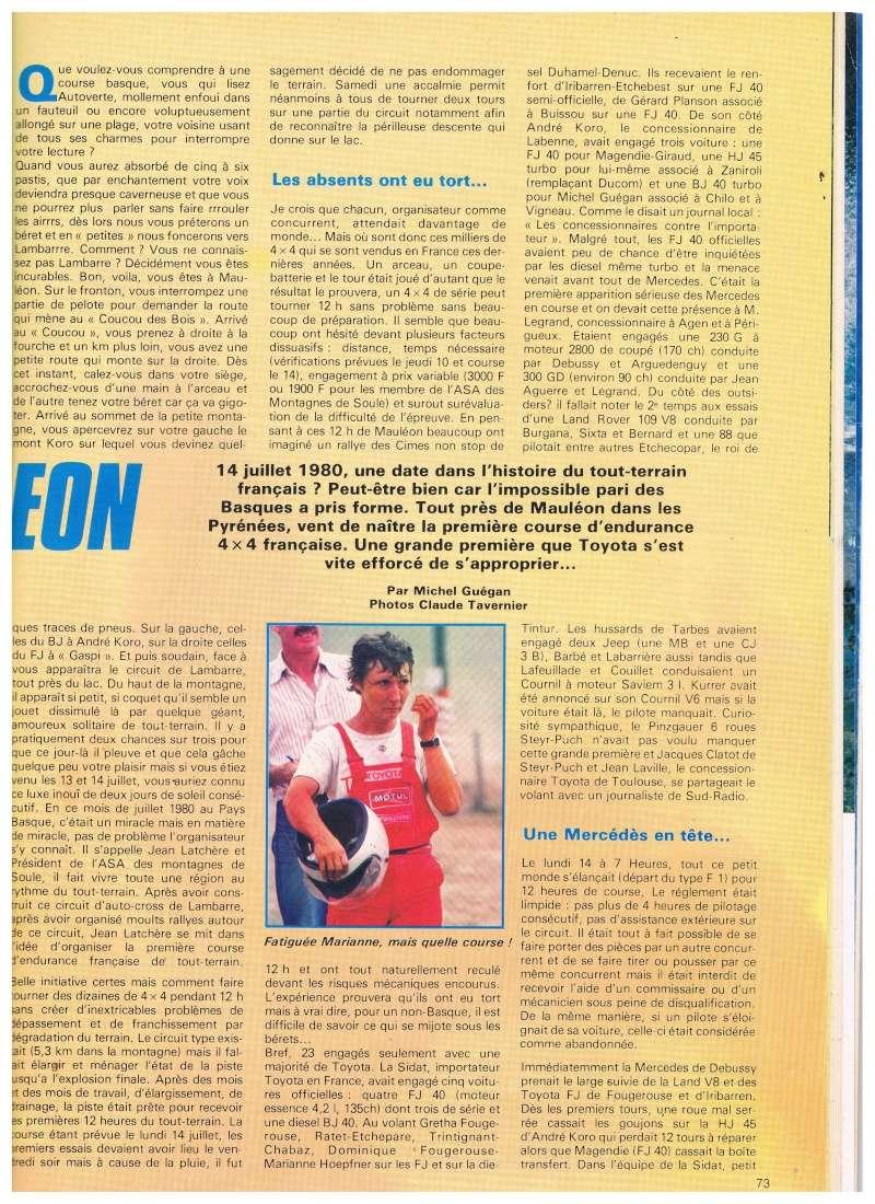 12 heures de Mauléon (circuit Lambarre 1980) Annonc15