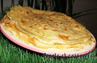 Pâte à crêpes à la farine blanche Crapes10