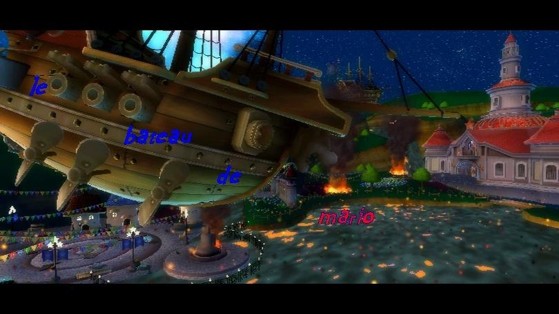 Le bateau de mario