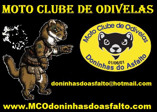 O Moto Clube de Mafra - Ratazanas do Asfalto é Padrinho do Moto Clube de Odivelas - Doninhas do Asfalto. Logo_d14