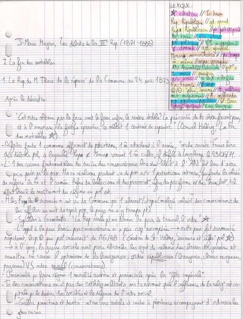 """Lilas: """"Les debuts de la 3é rep """"(Mayeur) Numari45"""