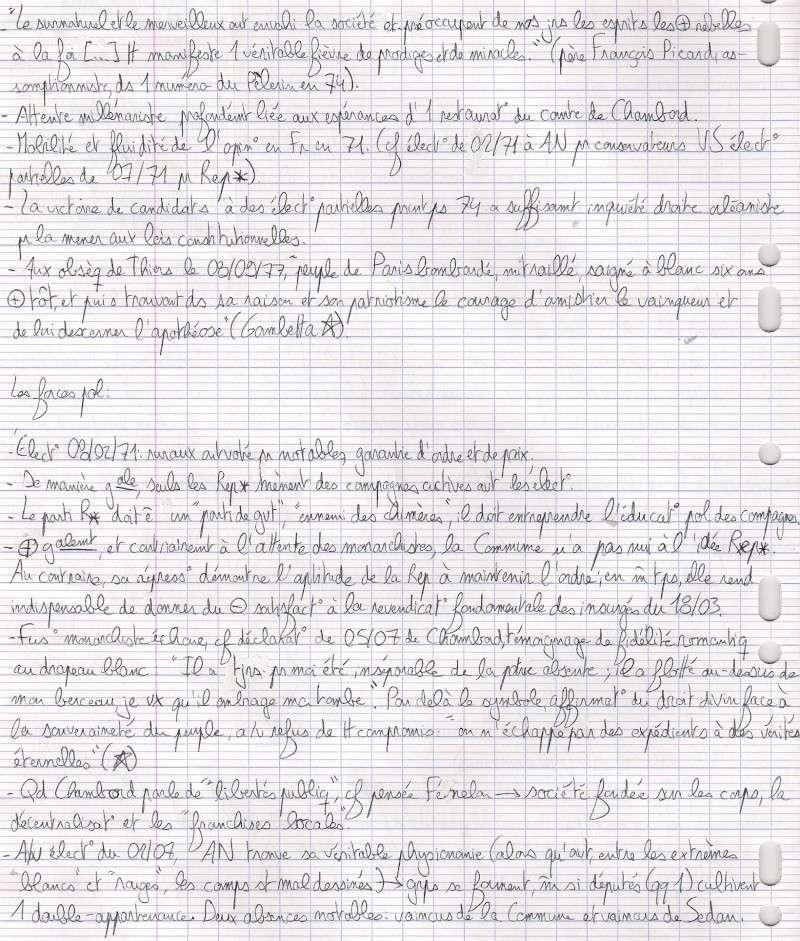 """Lilas: """"Les debuts de la 3é rep """"(Mayeur) Numari46"""
