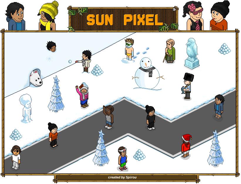 Sun-pixel