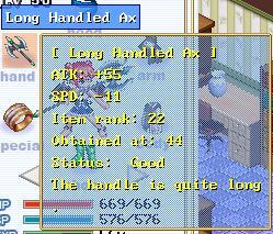 Fulu Alchemy: Long Handled Axe Long_h10