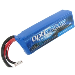 OptiPower Ultra 50C Lipo Cell Battery 2150mAh 3S 50C Opti-p10