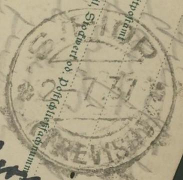 Buchprojekt HILFE - Stempel aus Innsbruck auf Belegen gesucht Dr_p_213