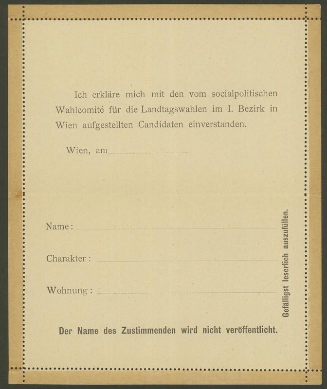 Amtliche Kartenbriefe mit privaten Textzudrucken K_15_f11