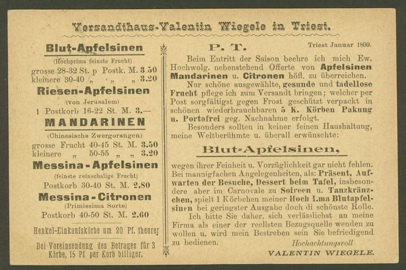 Lebensmittelwerbung auf Ganzsachenpostkarten P_76_t11