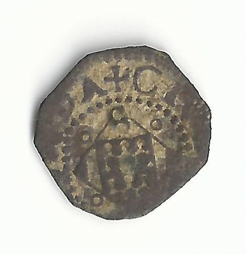 Dinero de Gérone pour Felipe III (1598-1621) Italie11