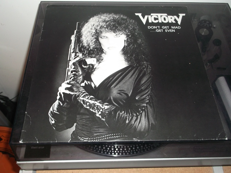 """VICTORY  """"Don't Get Mad -Get Even""""  (1987)  Dscf7810"""