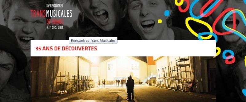 Les Rencontres Transmusicales de Rennes annoncent les 10 premiers noms de sa 36ème édition Sans_t10