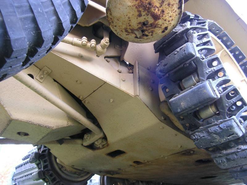 Chenilles sur sdkfz 251 Sdkfz210