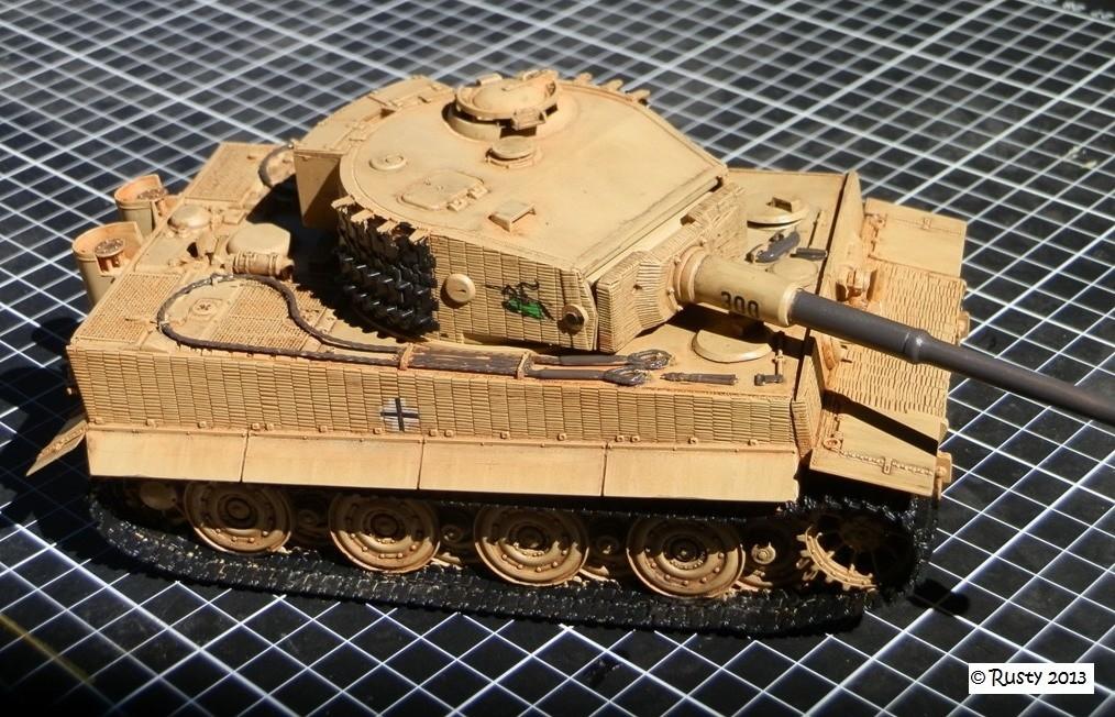 Tigre Ausf.E [Italeri 1/35 ref.6471] - Le Tigre de Mini-Rusty P8113110