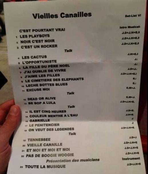 Johnny Hallyday, Jacques Dutronc & Eddy Mitchell à Paris-Bercy  Captur13