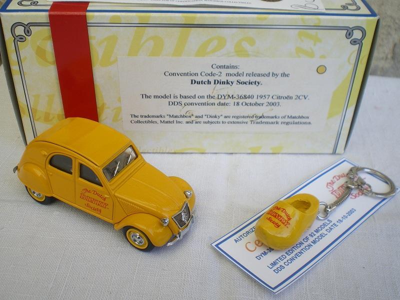 Citroën 2CV - 1957  - Dinky DY 32 - Matchbox Collection. Imgp1216