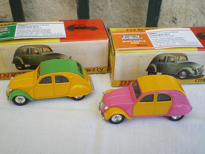 Citroën 2CV - 1957  - Dinky DY 32 - Matchbox Collection. Imgp1217