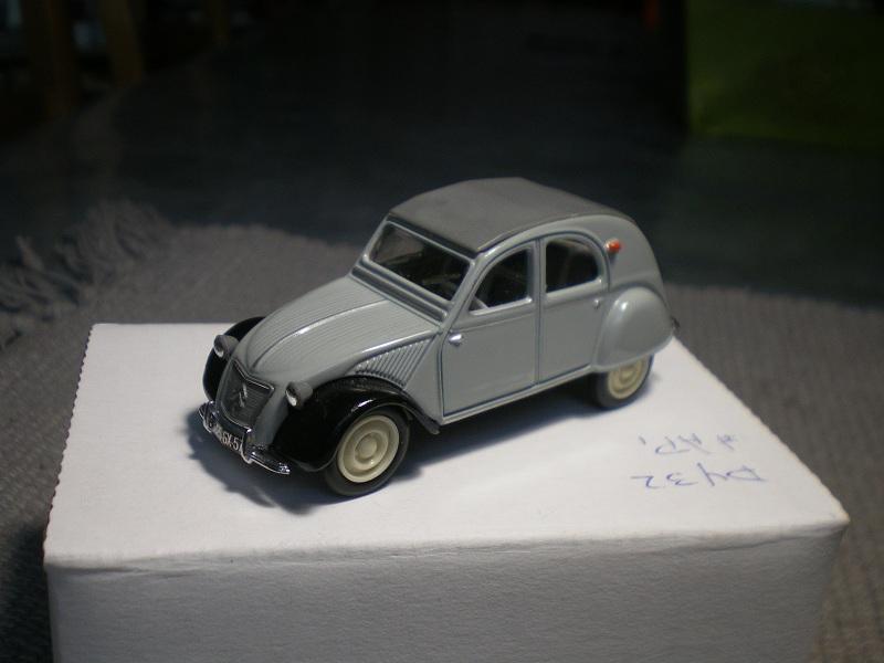 Citroën 2CV - 1957  - Dinky DY 32 - Matchbox Collection. Imgp1220