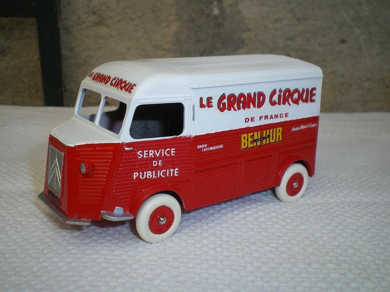 Citroën Les utilitaires miniatures au Cirque Imgp1316