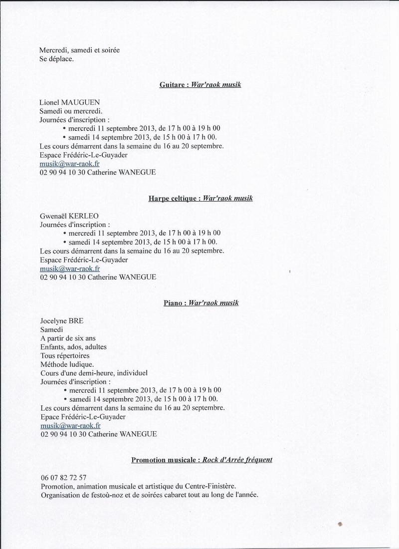 Forum des Associations le 1er septembre 2013 0910